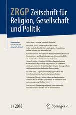 Zeitschrift für Religion, Gesellschaft und Politik