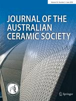 Journal of the Australian Ceramic Society