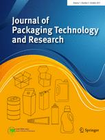 Journal of Packaging Technology and Research