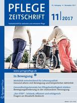 Pflegezeitschrift 11/2017
