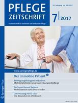 Pflegezeitschrift 7/2017
