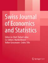 Swiss Journal of Economics and Statistics