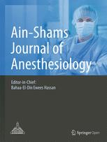 Ain-Shams Journal of Anesthesiology