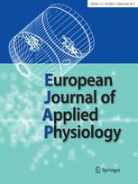 Internationale Zeitschrift für angewandte Physiologie einschließlich Arbeitsphysiologie