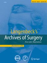 Langenbeck's Archives of Surgery