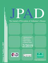 The Journal of Prevention of Alzheimer's Disease