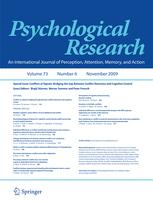 Psychological Research PRPF