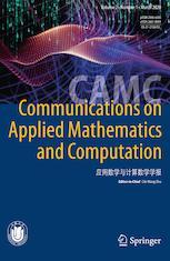 Communications on Applied Mathematics and Computation