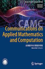 Communications on Applied Mathematics and Computation