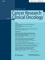 Journal of Cancer Research and Clinical Oncology