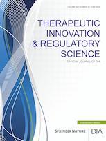 Therapeutic Innovation & Regulatory Science