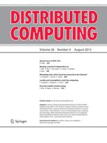 Distributed Computing cover image