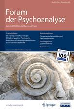 Forum der Psychoanalyse