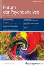 Forum der Psychoanalyse 1/2012
