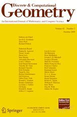 Discrete & Computational Geometry