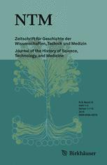 NTM Zeitschrift für Geschichte der Wissenschaften, Technik und Medizin
