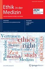Ethik in der Medizin 4/2012