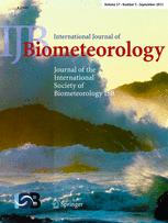 International journal of bioclimatology and biometeorology