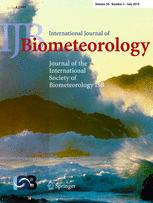 International Journal of Biometeorology