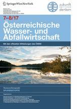 Österreichische Wasser- und Abfallwirtschaft 7-8/2017
