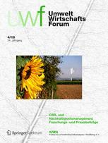 uwf UmweltWirtschaftsForum