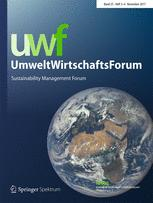 NachhaltigkeitsManagementForum | Sustainability Management Forum