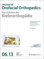 Journal of Orofacial Orthopedics / Fortschritte der Kieferorthopädie