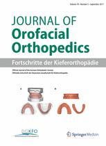 Journal of Orofacial Orthopedics / Fortschritte der Kieferorthopädie 5/2017