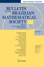 Bulletin of the Brazilian Mathematical Society, New Series