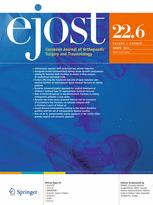 European Journal of Orthopaedic Surgery & Traumatology