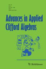 Advances in Applied Clifford Algebras