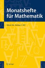 Monatshefte für Mathematik