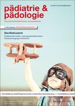 Pädiatrie & Pädologie 1/2013