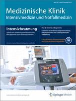 Medizinische Klinik - Intensivmedizin und Notfallmedizin 8/2012