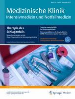 Medizinische Klinik - Intensivmedizin und Notfallmedizin 8/2017