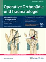 Operative Orthopädie und Traumatologie