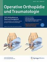 Operative Orthopädie und Traumatologie 5/2017