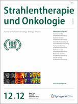 Strahlentherapie und Onkologie 12/2012
