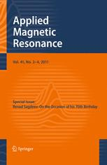 Applied Magnetic Resonance