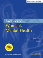 Archives of Women's Mental Health