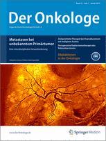 Der Onkologe 1/2013