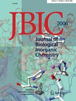 JBIC Journal of Biological Inorganic Chemistry