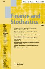 Finance and Stochastics