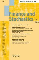 Finance and Stochastics