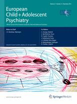 European Child & Adolescent Psychiatry 12/2012
