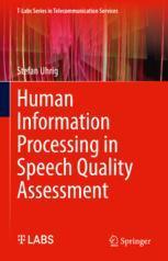 语音质量评估中的人类信息处理