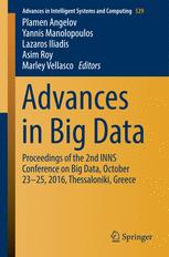 Advances in Big Data
