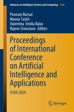 Proceedings of International Conference on Artificial Intelligence and Applications