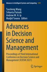 Advances in Decision Science and Management
