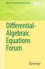 Differential-Algebraic Equations Forum